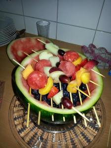 Wassermelonen Grill