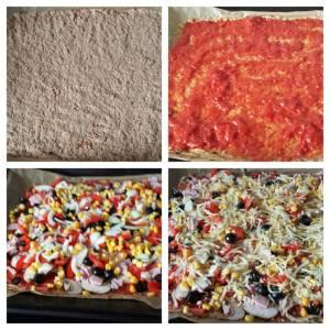 Low-Carb Pizza von Christine D.